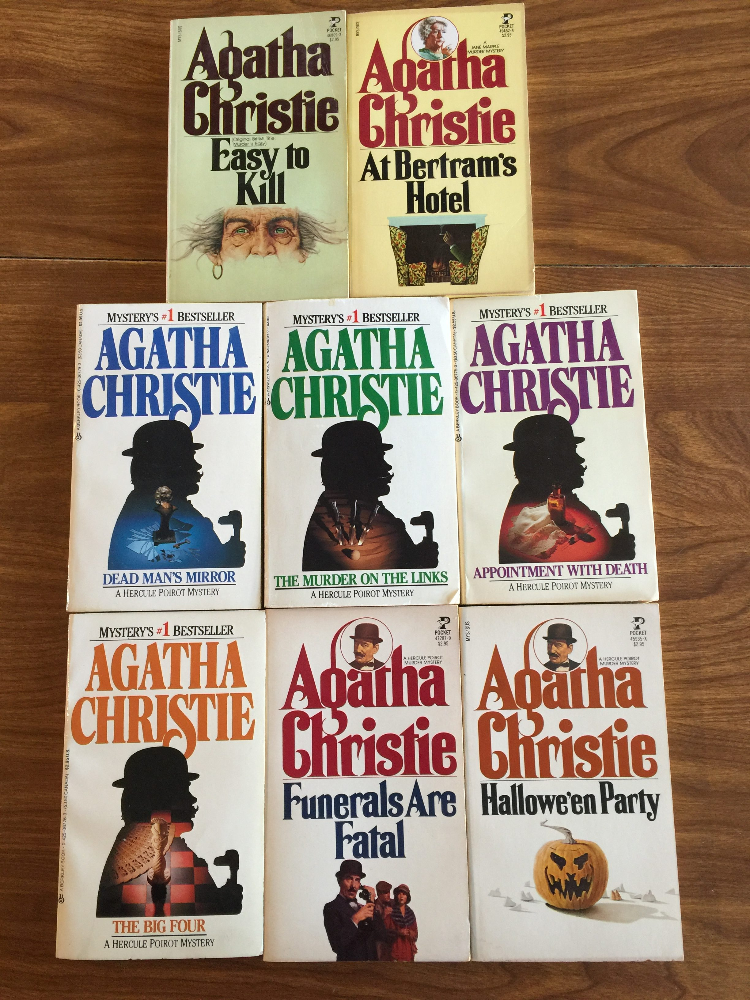 These Agatha Christie Mysteries, But Not In These Editions Even  Serious Bibliophiles Might Think My Christie Collection Is Over The Top I  Buy As Many